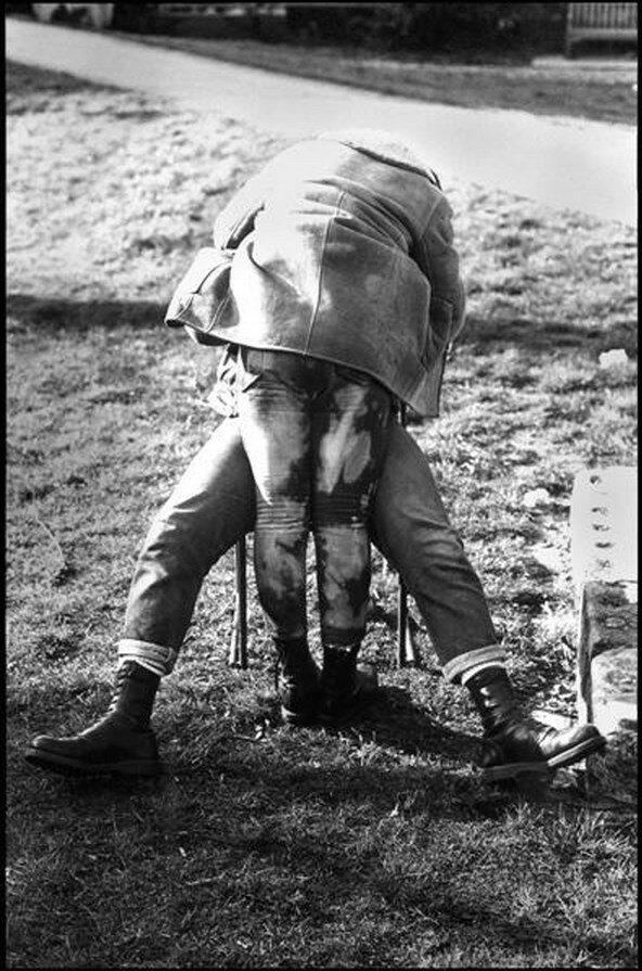 1980. Скинхедовский поцелуй. Челси