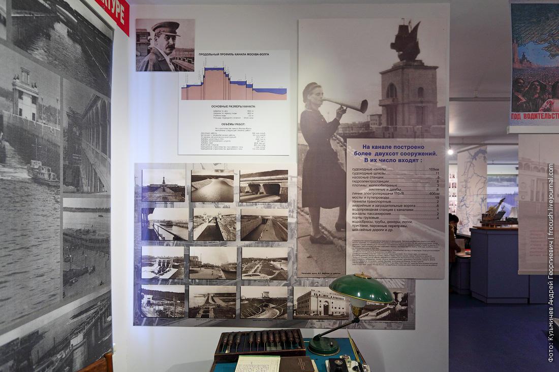 Деденево музей канала имени Москвы