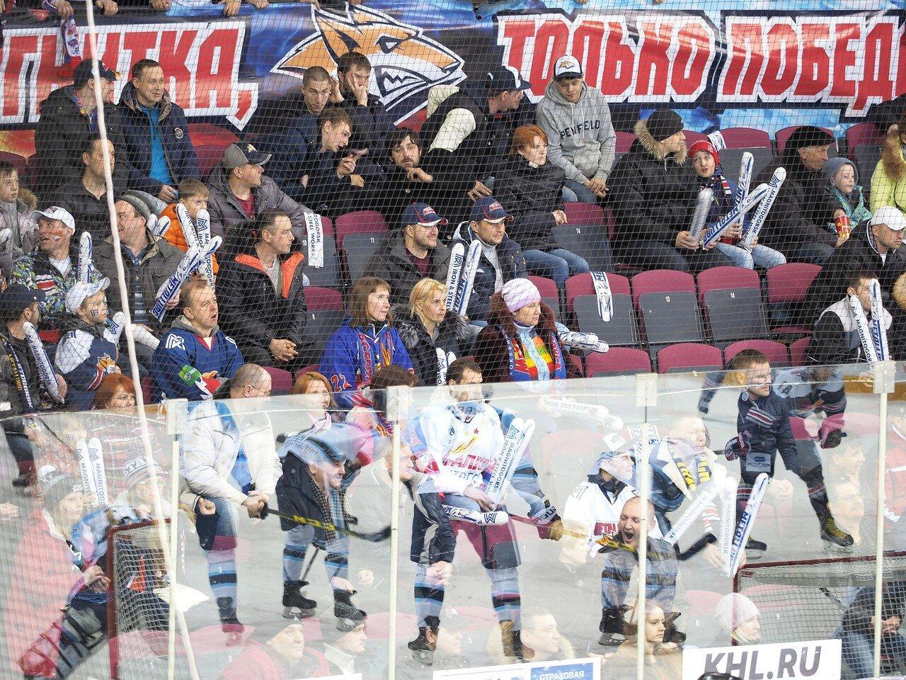 73Плей-офф 2016 Восток 1/2 Металлург - Сибирь 10.03.2016
