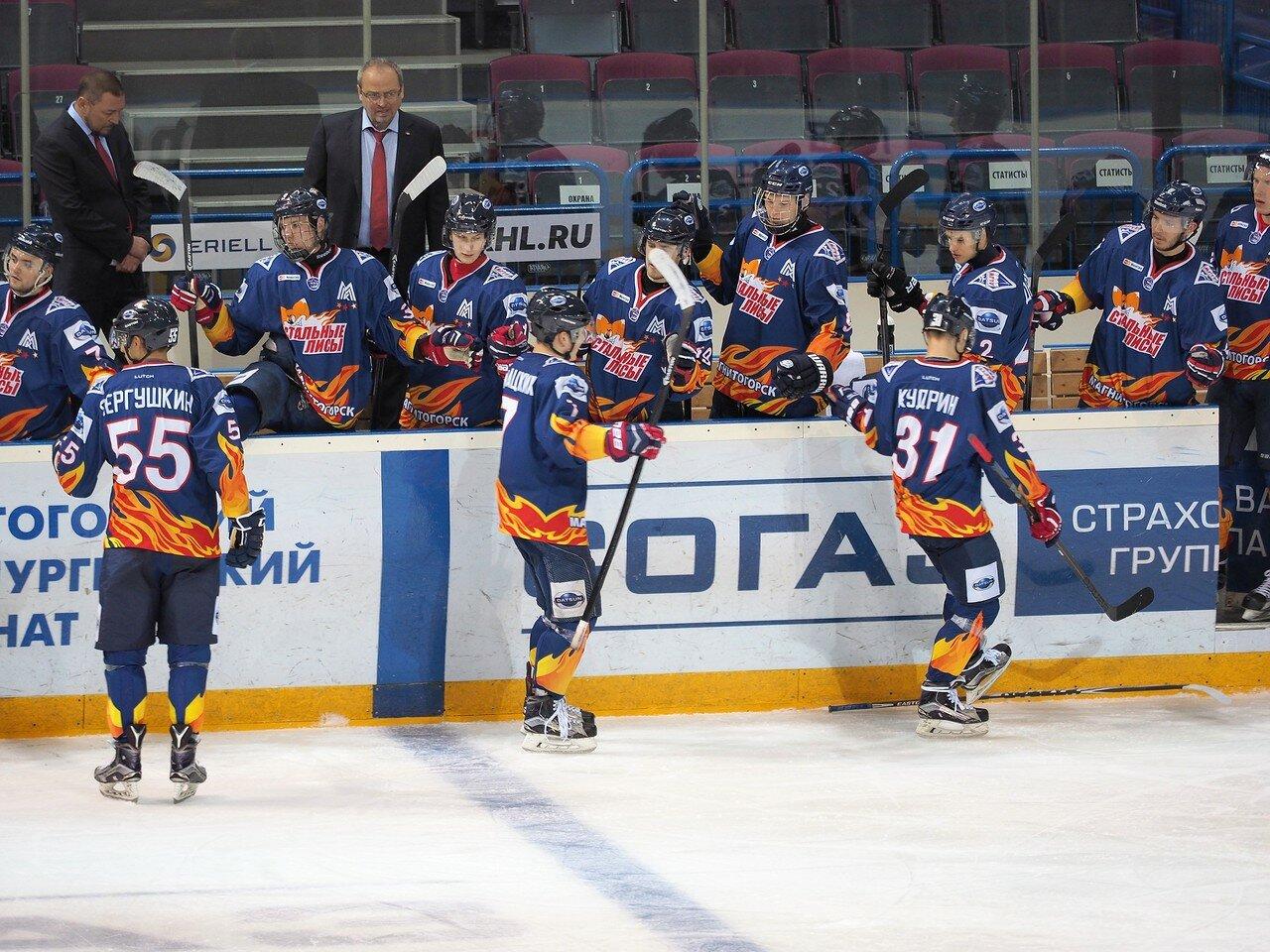 61Плей-офф МХЛ 2016 1/4 Стальные Лисы - Сибирские Снайперы 21.03.2016