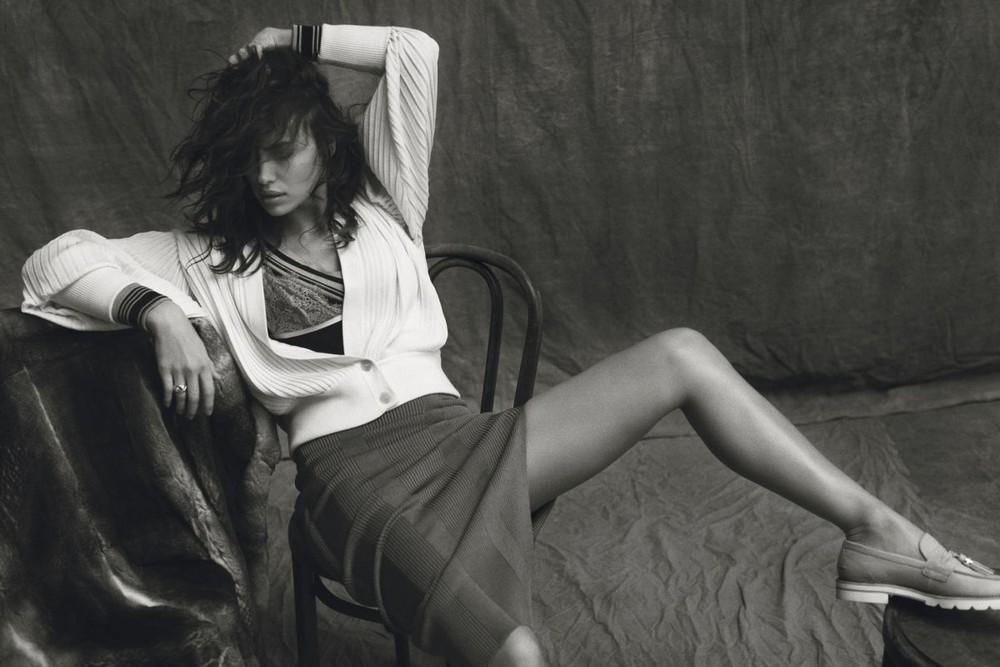 Ирина Шейк в издании Harper's Bazaar Magazine