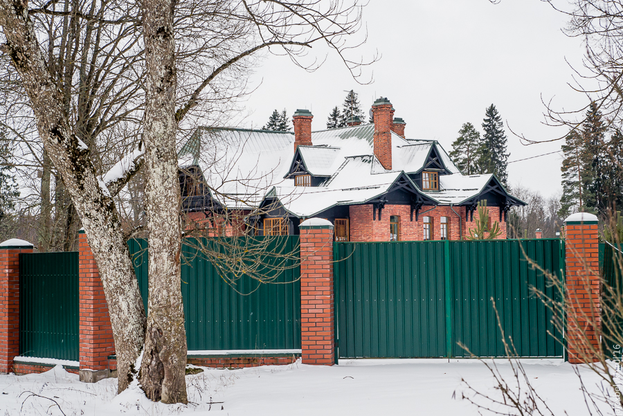 Усадьба Черемыкино, Охотничий дом Мекленбург-Стрелицкого