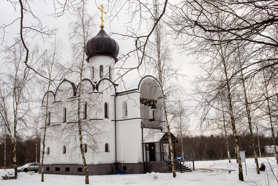 Церковь Ксении Петербургской, церковь Жабино