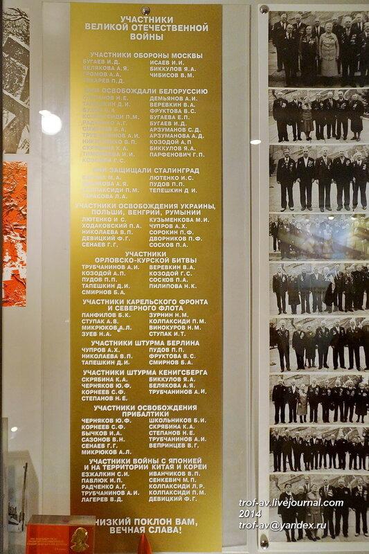 Участники ВОВ, Музей 121 авиационного ремонтного завода, Старый городок, Кубинка