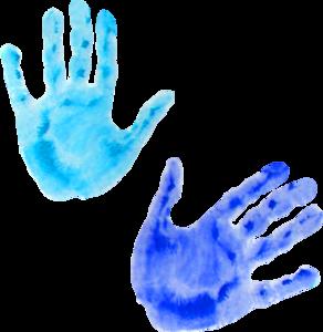 отпечатки рук