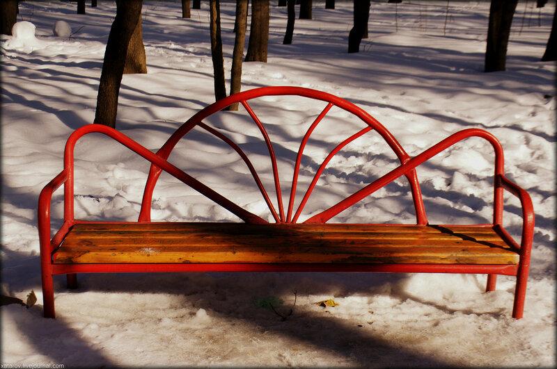 Парк Кузьминки в Москве