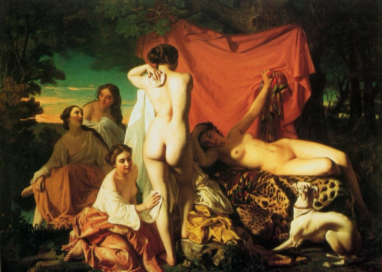1. Abrupt Clio Team 1849 Antigna Alexandre AprКs le bain After the bath.jpg