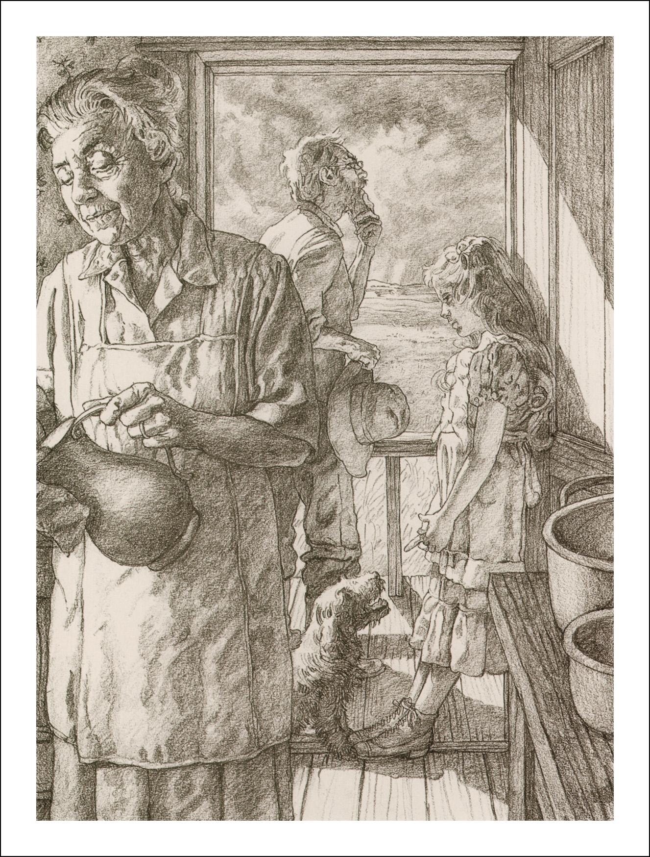Грег Хильдебрандт, Волшебник страны Оз