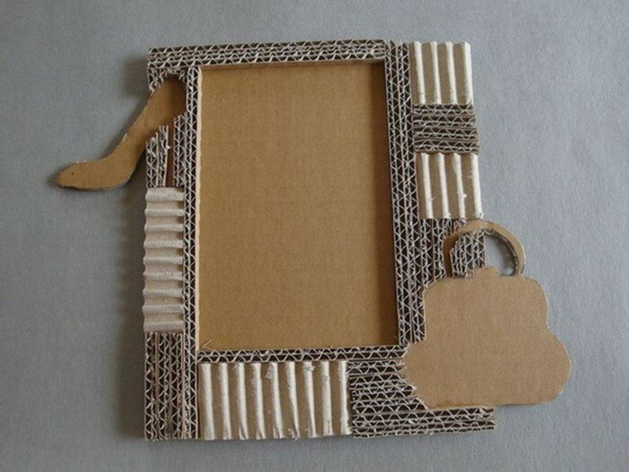 Самодельная рамка для с картона