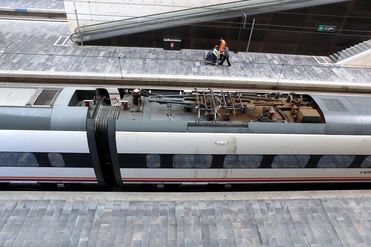 Сарагоса. Вокзал Делисиас (Estación Intermodal de Zaragoza-Delicias)