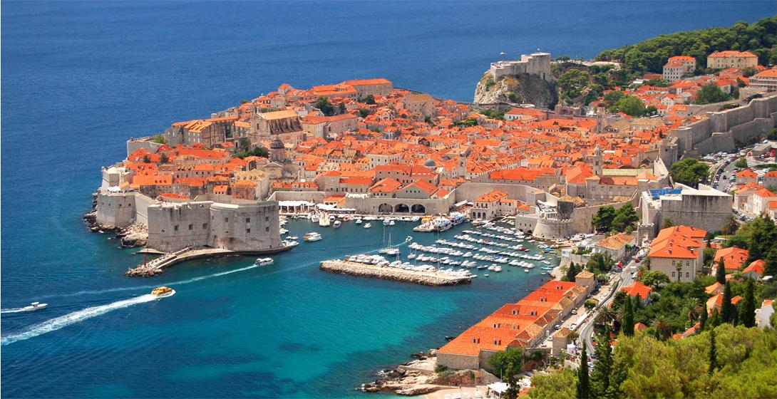 Королевская гавань Дубровник, Хорватия