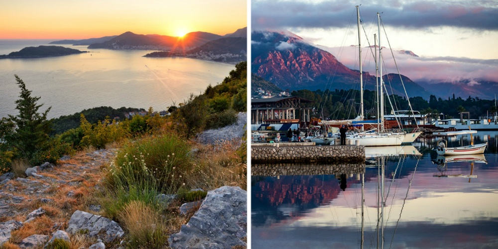 Черногория— красивая, преимущественно горная страна, совсем небольшая попротяженности, что позволя