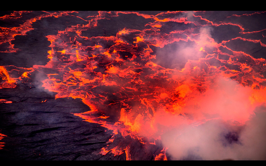С 1882 года вулкан Ньирагонго извергался не менее 34 раз, включая периоды, когда его активность длил