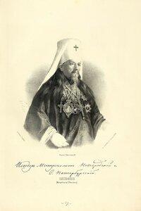 Исидор (Никольский), Митрополит новгородский, санктпетербургский и финляндский