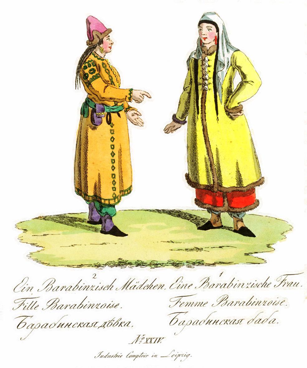 24. Барабинская девка и баба.