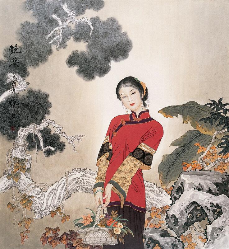 китайская графика картинки