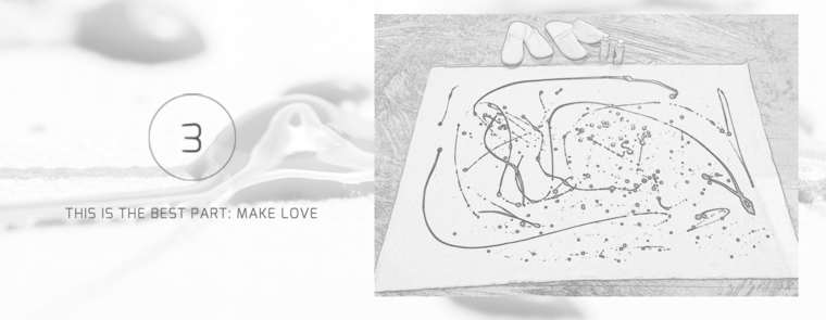 Sex Art - Make love on a canvas to create your own works of art