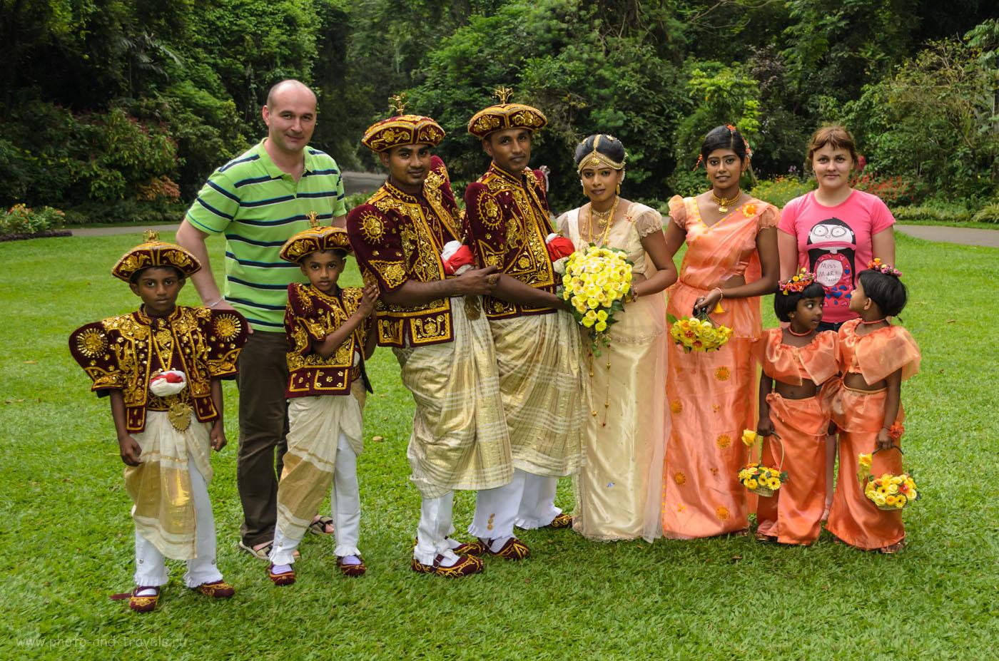 23. Свадебная фотосессия в ботаническом парке Перадения на Шри-Ланке. Стоит ли ехать на экскурсию? Хотя бы ради таких снимков...