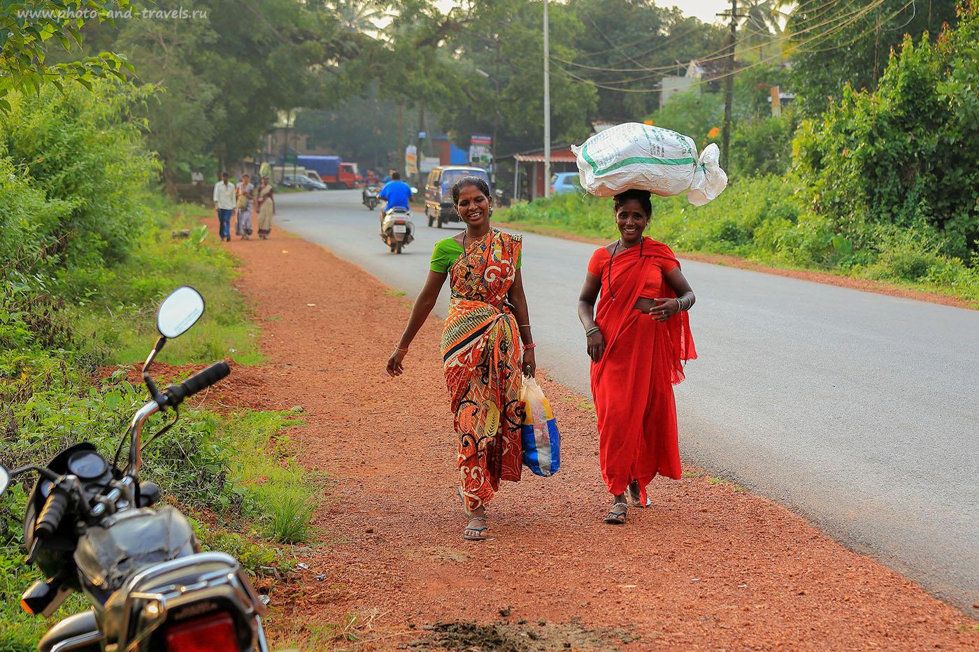 Фотография 4. Две тетки. Самостоятельная поездка в Индию. Отдых на Гоа. (70-200,1/320, 0eV, f5, 70mm, ISO 200)