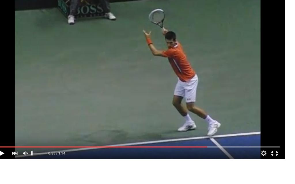 Ставка противоход в теннисе