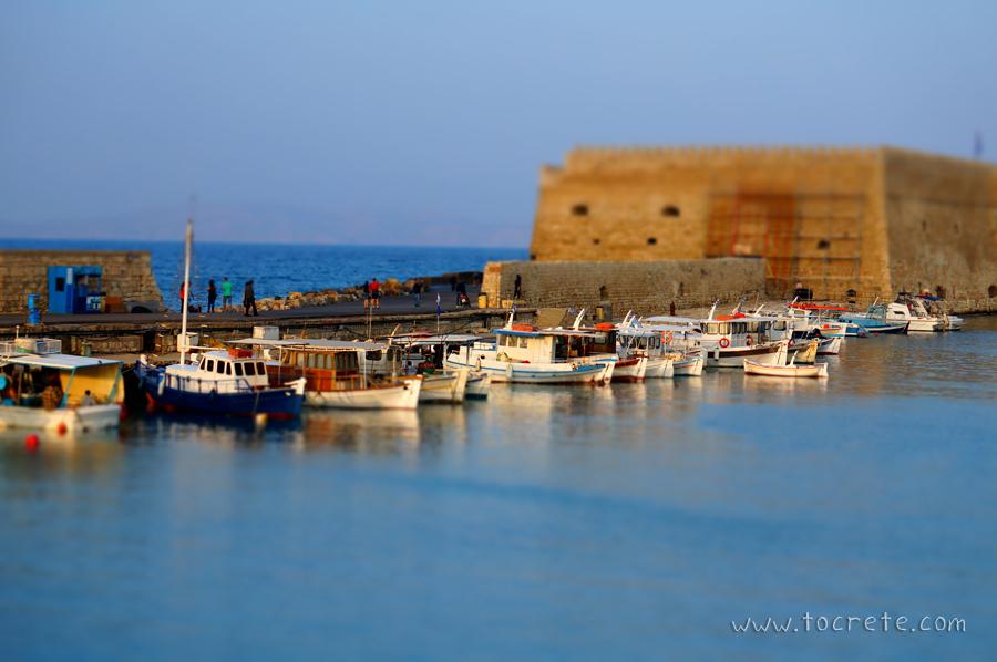 Крепость Кулес в г. Ираклион | Fortress Koules in Heraklion