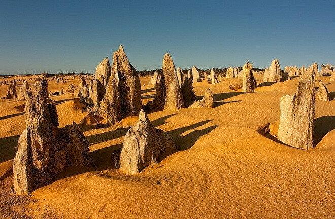 Пустыня Те-Пиннаклс. Австралия