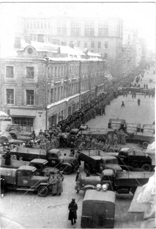 282 Пушкинская улица (Большая Дмитровка), вид из окна дома № 16 1953 Архив Веры Чаплиной.jpg