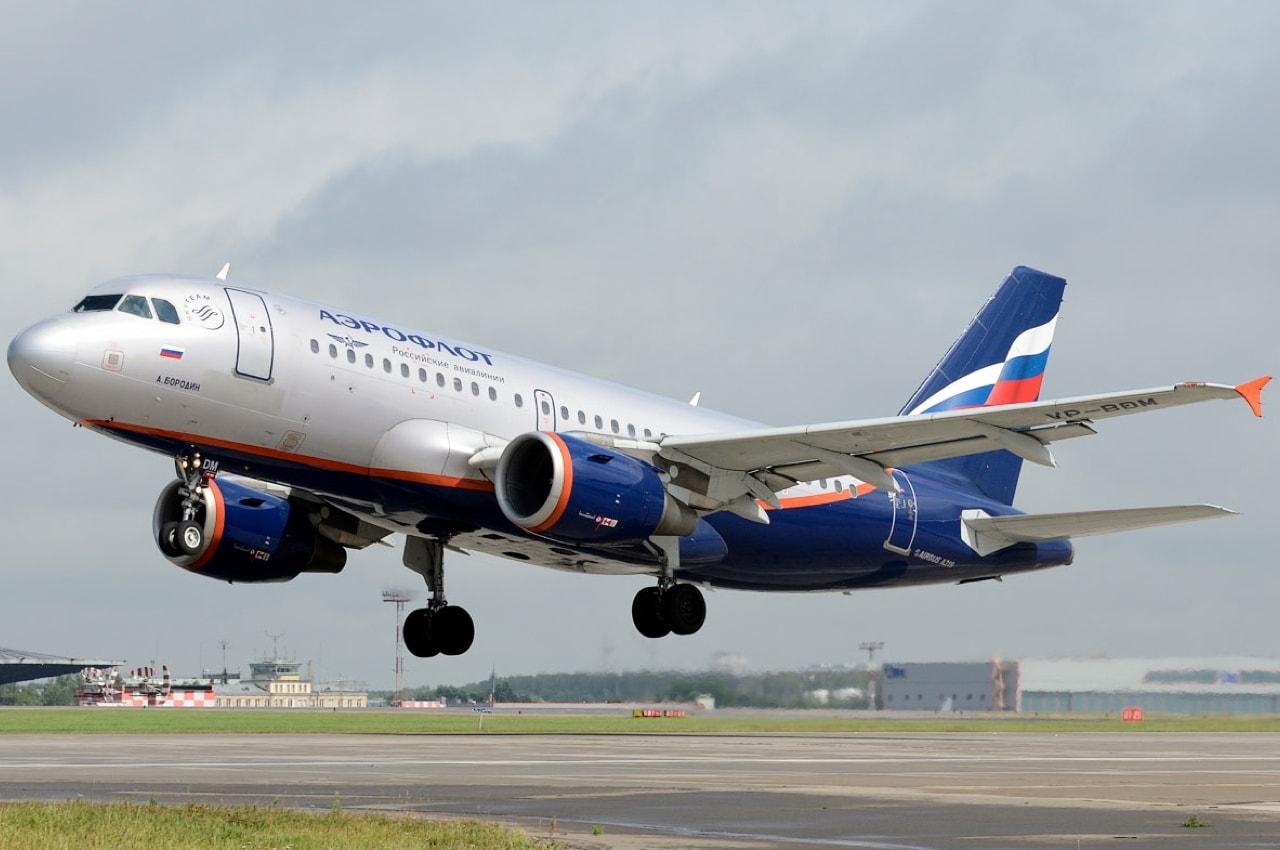 Аэрофлотовский аэробус А-319