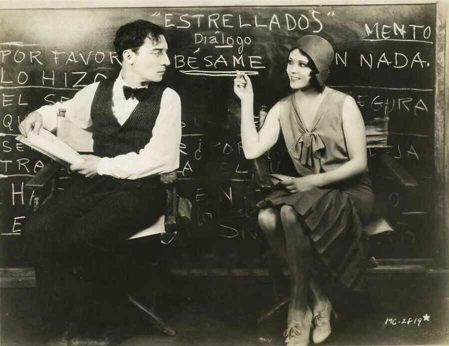 Buster Keaton and Raquel Torres.jpg