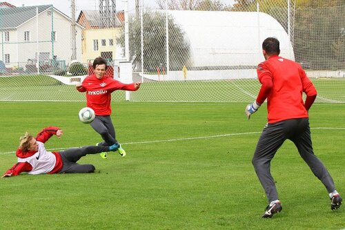 Тренировка Спартака 28-09-2011