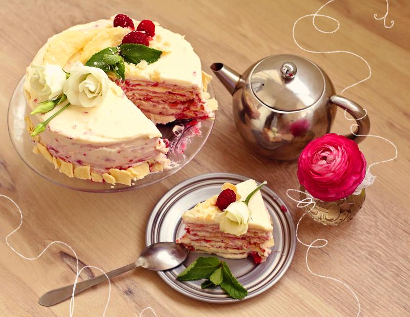 Торт Наполеон - пошаговый рецепт с фото #2.