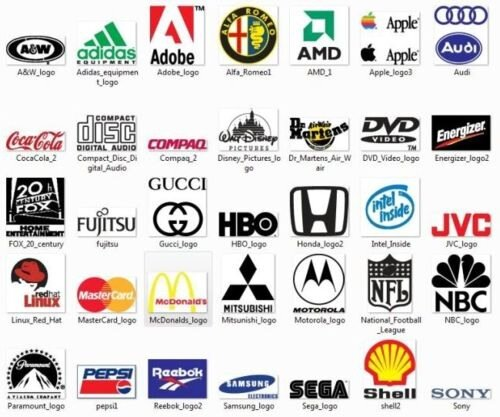 Мегаколлекция логотипов - 56 000 штук EPS с превью бесплатно
