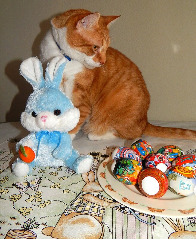 For Easter.