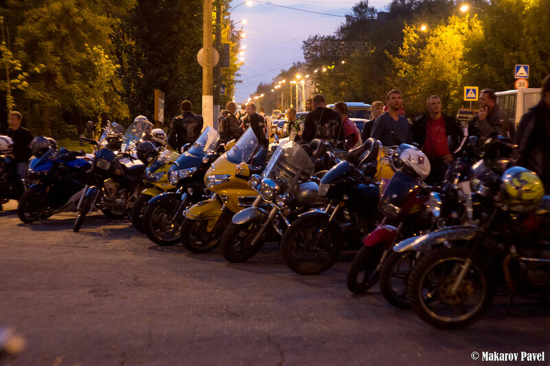 Памяти погибших мотоциклистов 2015