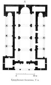 План Ереруйской базилики, Болгария