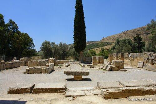 греция, крит, гортина
