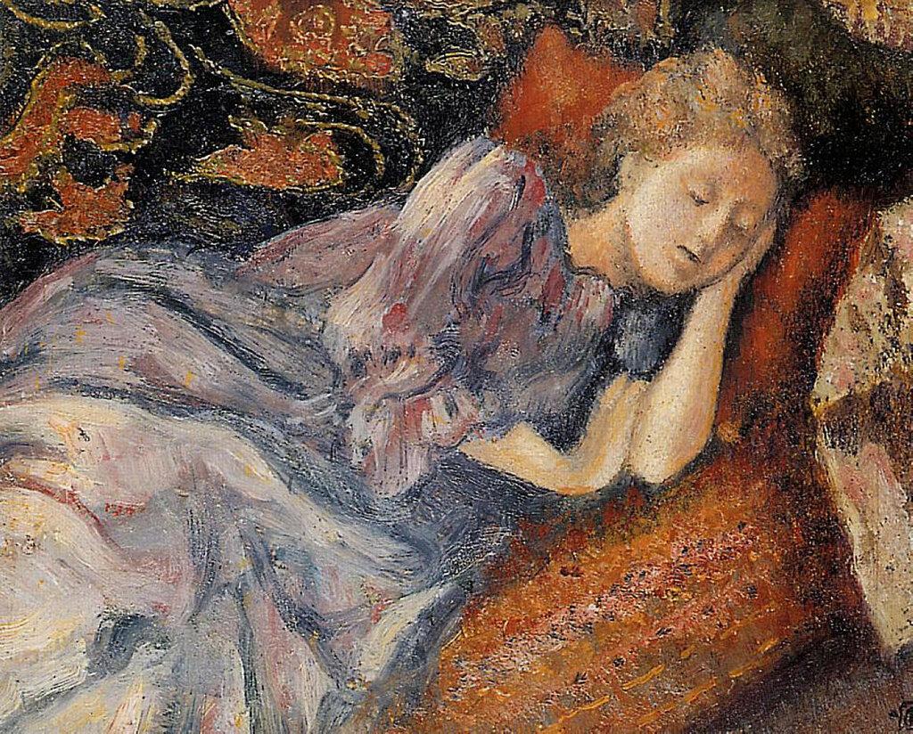 Georges Lemmen - Sleep, 1900.jpeg