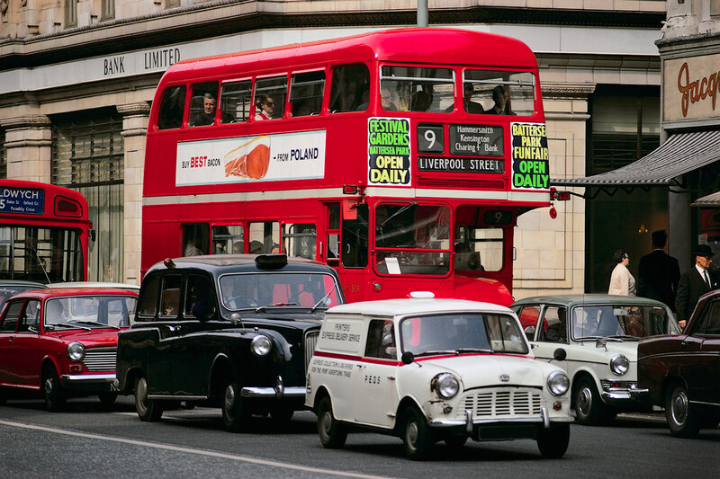 London Street Traffic
