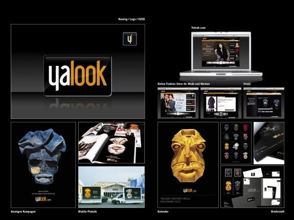 Рекламные принты Bela Borsodi для онлайн-магазина одежды Yalook
