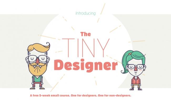 The Tiny Designer — внутри каждого изнас живет маленький дизайнер, считают авторы 5-недельного ema