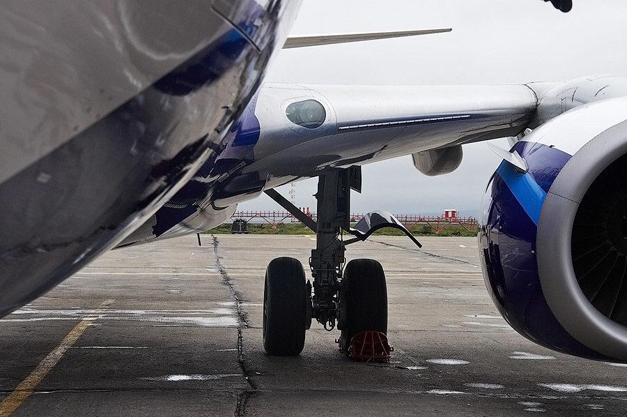 Как обслуживают самолеты после посадки