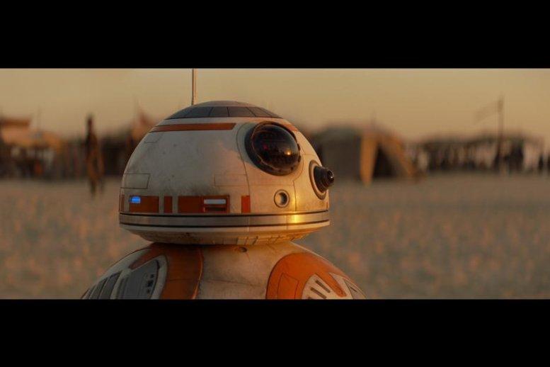 Star Wars.The Force Awakens. Звёздные войны. Пробуждение силы. 2015 Дроид BB-8