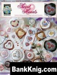 Книга Буклет вышивки крестом «Sweet Hearts» от True colors jpg 3,26Мб