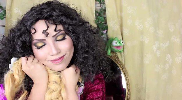 Удивительное превращение девушки в 15 диснеевских принцесс