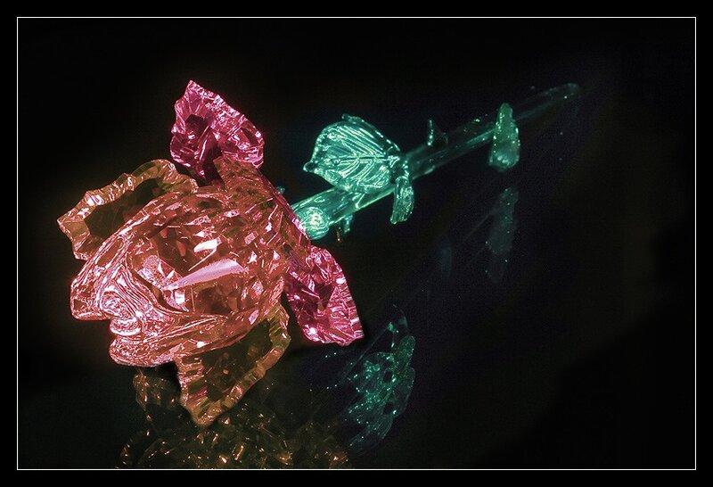 Хрустальные туфельки, розы из хрусталя, инкрустированные шкатулки для драгоценностей, изысканные сувениры в...