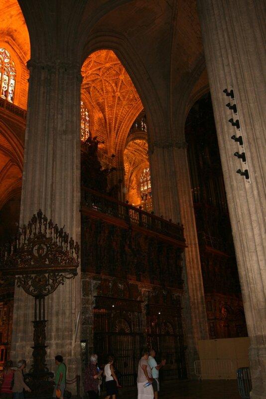 Севилья, внутри Кафедрального Собора