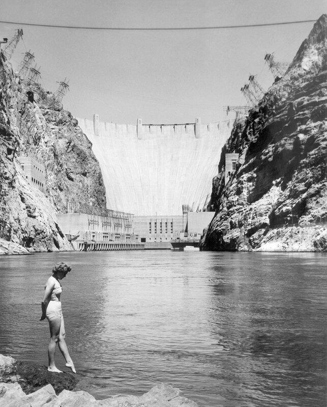 Hoover Dam 1957