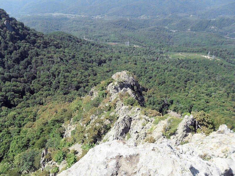 Вид с вершины Индюшки...