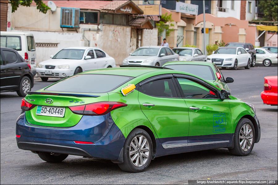 Суровые иорданские таксисты