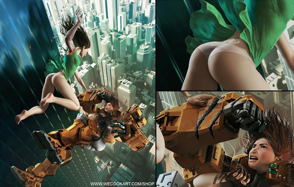 Digital art by Randis Albion